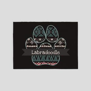 Labradoodle 5'x7'Area Rug
