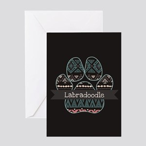 Labradoodle Greeting Card