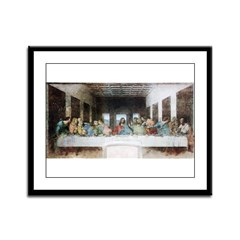 Last Supper Framed Panel Print