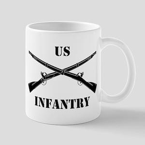 Infantry Branch Insignia (3b) Mug