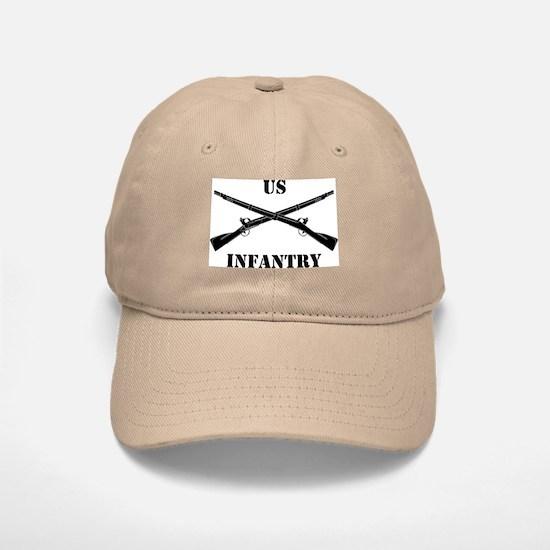 Infantry Branch Insignia (3b) Baseball Baseball Cap