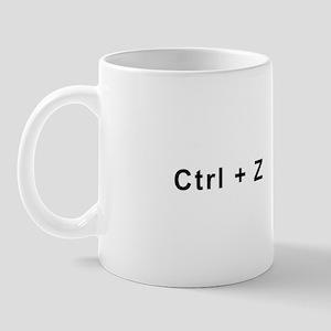 Tech -- Control + Z Mug