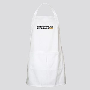 Chief of Police BBQ Apron
