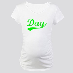 Vintage Day (Green) Maternity T-Shirt