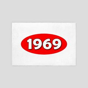 1969 4' x 6' Rug