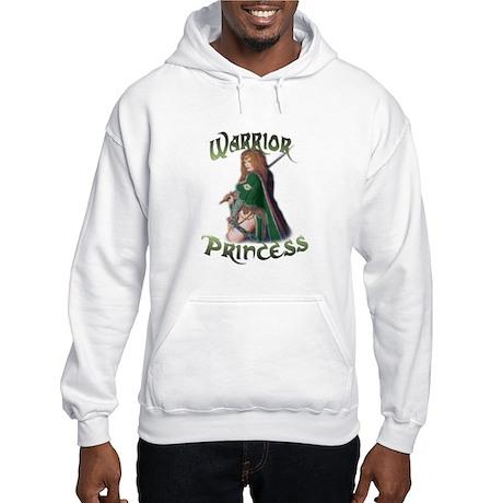Warrior Woman Hooded Sweatshirt
