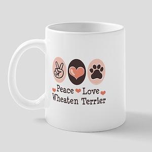 Peace Love Wheaten Terrier Mug