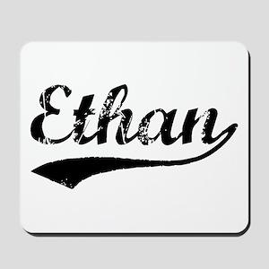 Vintage Ethan (Black) Mousepad