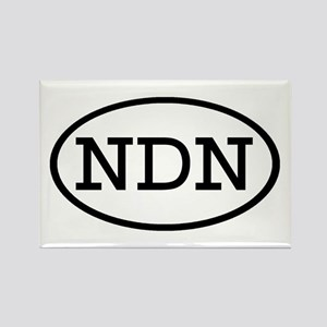 NDN Oval Rectangle Magnet