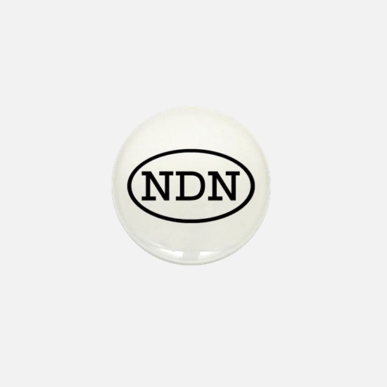 NDN Oval Mini Button