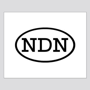 NDN Oval Small Poster