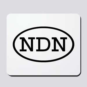 NDN Oval Mousepad