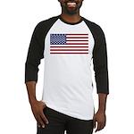 United States (USA) Flag Baseball Jersey