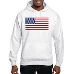 United States (USA) Flag Hooded Sweatshirt