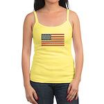 United States (USA) Flag Jr. Spaghetti Tank