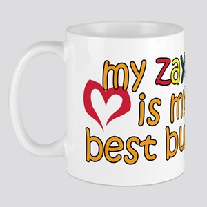 Zayde is My Best Buddy Mug