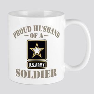 Proud Army Soldier's Husband 11 oz Ceramic Mug