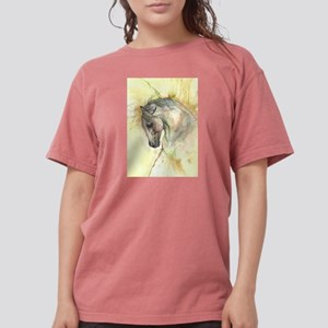 Horse on yellow background T-Shirt