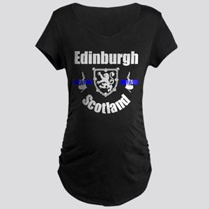 Edinburgh Scotland Maternity Dark T-Shirt