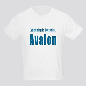 Better in Avalon T-shirts Kids Light T-Shirt