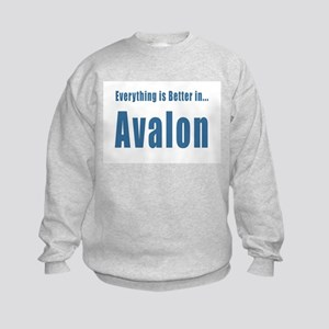Better in Avalon T-shirts Kids Sweatshirt