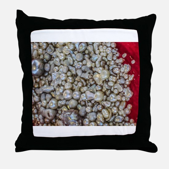 Treasure from the Sea Throw Pillow