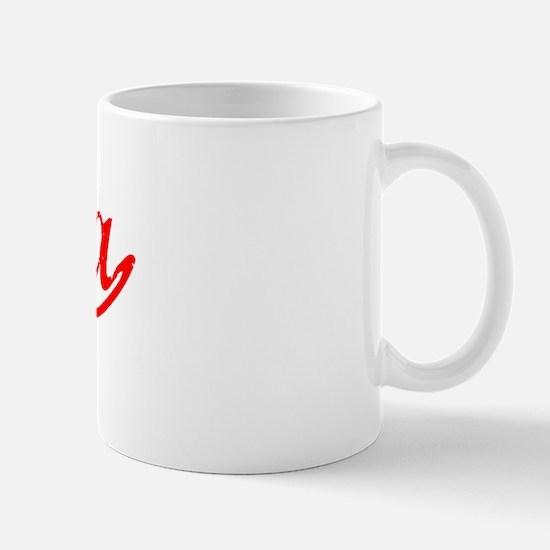 Vintage Dalia (Red) Mug