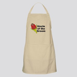 Uncle of the Groom BBQ Apron