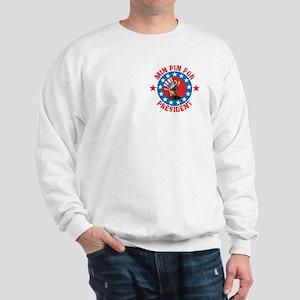 Vote for Min Pin Sweatshirt