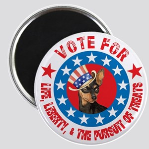 Vote for Min Pin Magnet