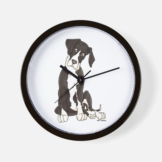 NMTL Tilt Pup Wall Clock