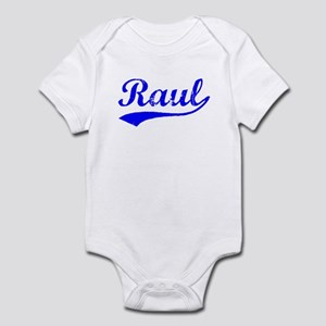 Vintage Raul (Blue) Infant Bodysuit