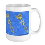 Messianic Seal Of Jerusalem Large Mug
