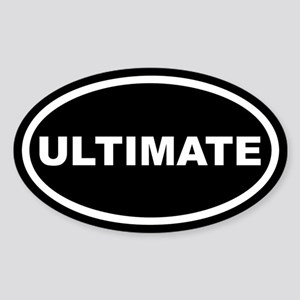 Ultimate Euro Oval Sticker