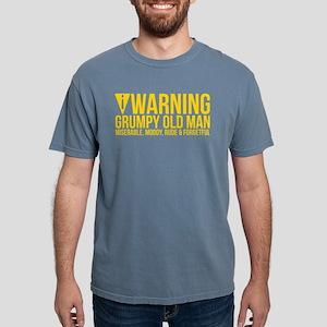 Warning Grumpy Old Miserable Moody Rude T-Shirt