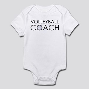 Volleyball Coach Infant Bodysuit