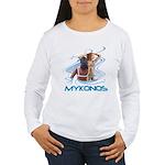 Mykonos Women's Long Sleeve T-Shirt