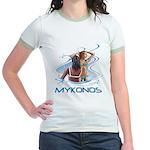 Mykonos Jr. Ringer T-Shirt