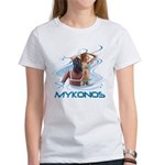 Mykonos Women's T-Shirt