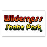 Wilderness State Park Rectangle Sticker