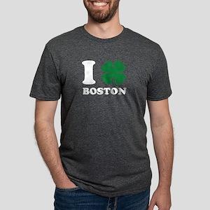 I Shamrock Boston Clover Love St Patricks T-Shirt