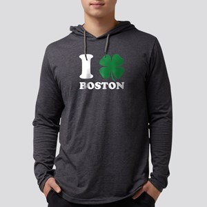 I Shamrock Boston Clover Love Long Sleeve T-Shirt