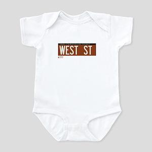 West Street in NY Infant Bodysuit