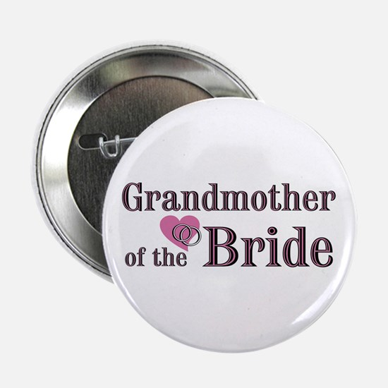 """Grandmother of Bride II 2.25"""" Button"""