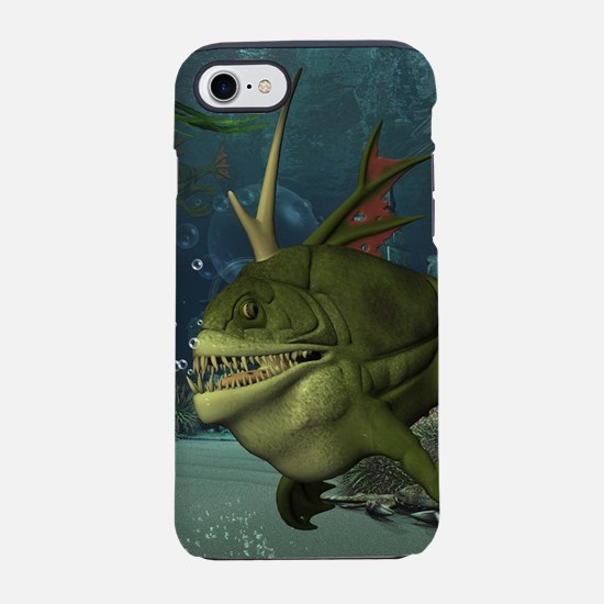 Awesome armourfush in the deep ocean iPhone 8/7 To