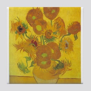 Sunflowers 2 Tile Coaster