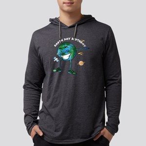 Earth Day My Birthday Planet E Long Sleeve T-Shirt