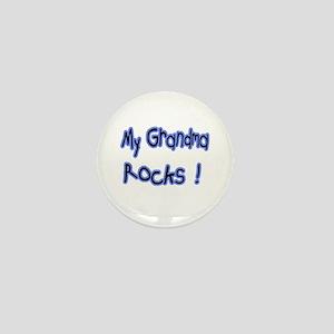 My Grandma Rocks ! Mini Button