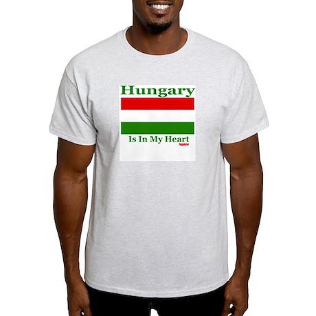Hungary - Heart Light T-Shirt