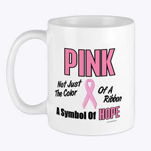 PINK Not Just A Color 3 Mug